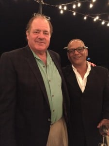 billy Valentine with Chris Berman