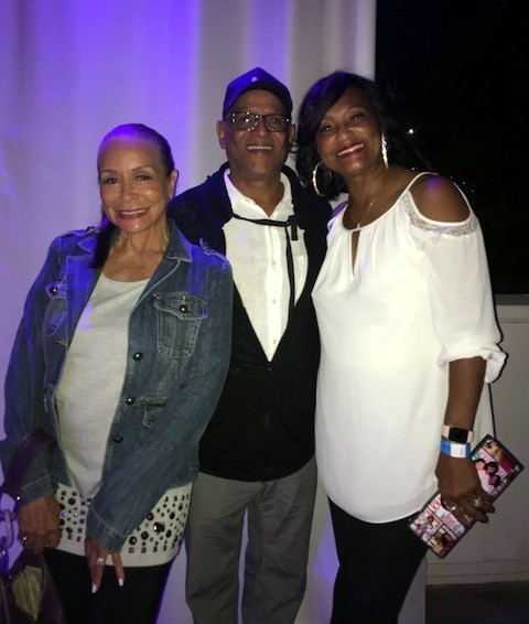 Billy Valentine with Freda Payne & Eloise Laws